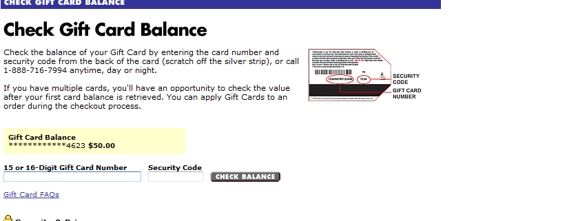 FS: Best Buy Gift Card, 50$ for 35$. - Ars Technica OpenForum